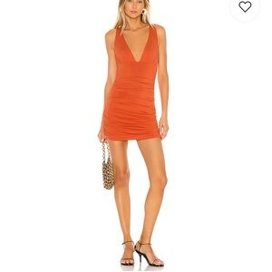 Orange bandage dress LOVERS AND FRIENDS 🔥🔥🔥